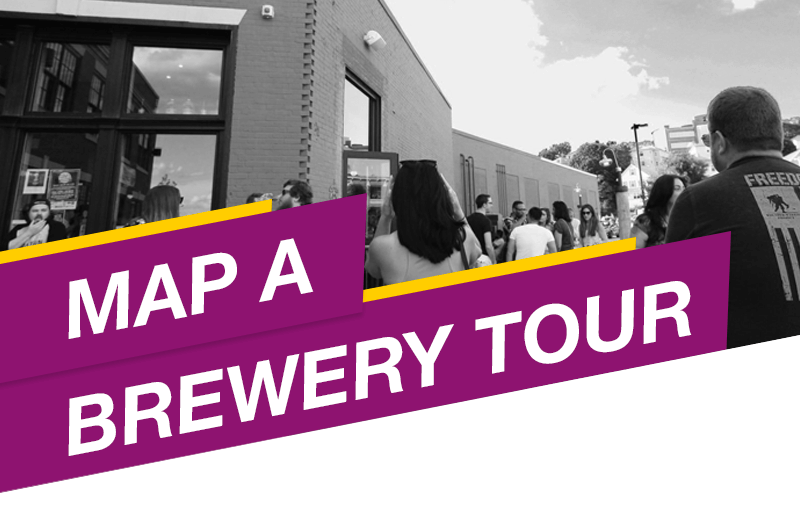 Map a Brewery Tour