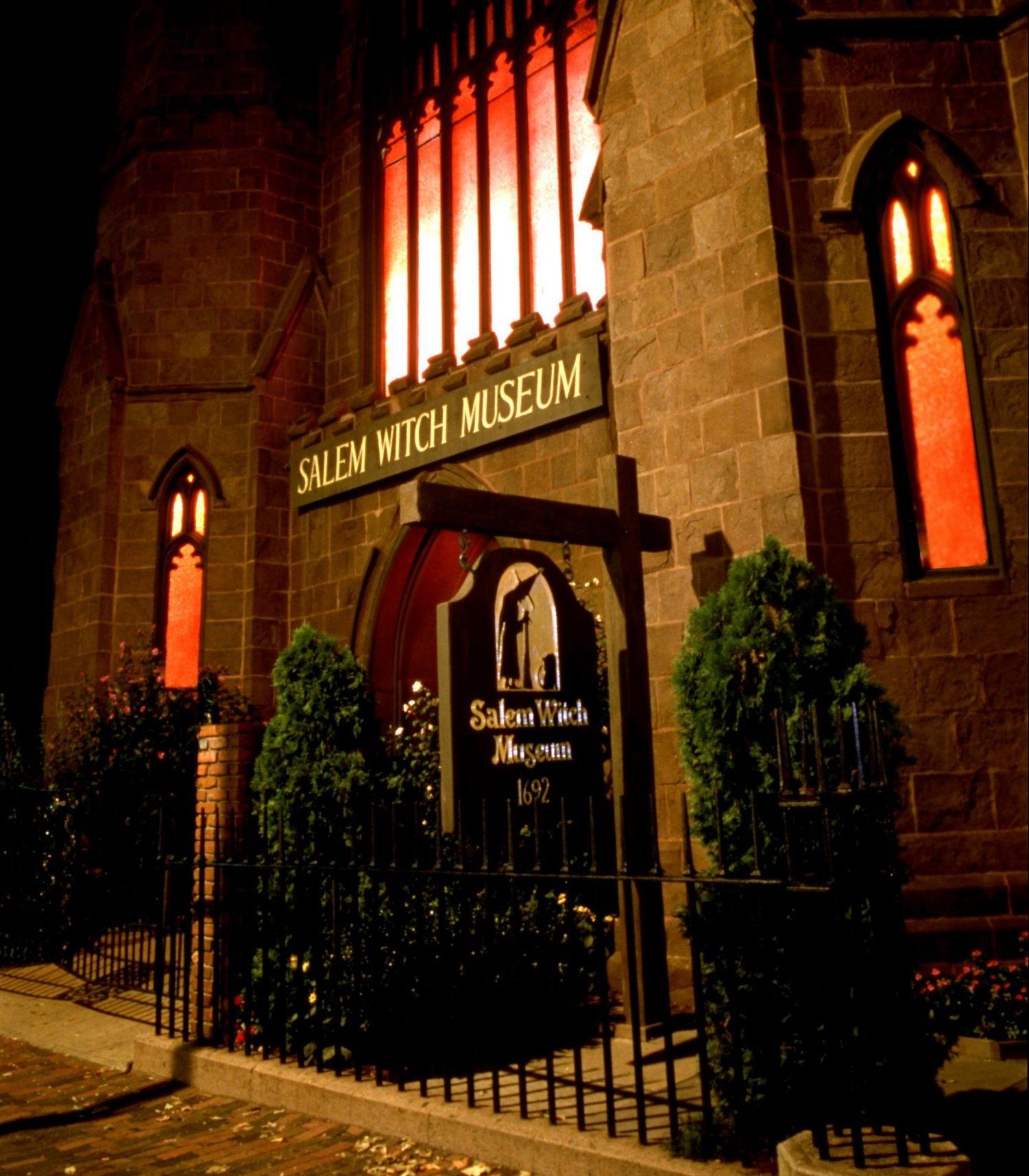 Salem witch museum part of Haunted Happenings in Salem Massachusetts